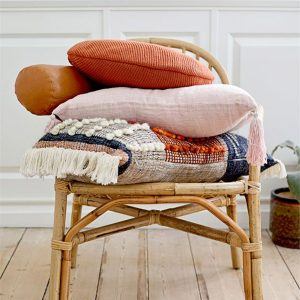 boho luxe danish design spice palette pillows bloomingville