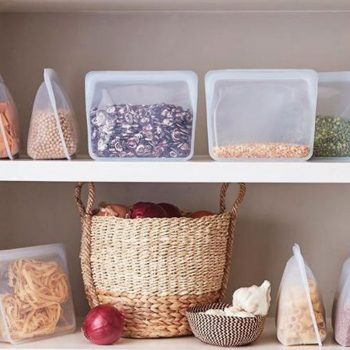 Rethink plastic with Stasher Storage Bags