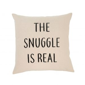 indaba 1-7215 the snuggle is real throw pillow