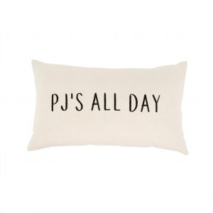 indaba 1-7586 pj's all day throw pillow