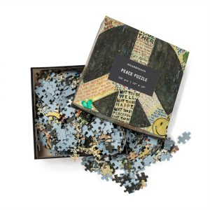 sugarboo 500 piece peace puzzle pz102 great gift modern cool